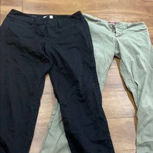 Two pair of work pants